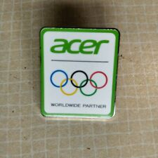 LONDON 2012 OLYMPIC PIN BADGE ACER 'WORLDWIDE PARTNER'