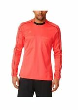 NWT Adidas AJ5918 Football Soccer Mens Red Referee 16 L/S ClimaCool® Jersey M
