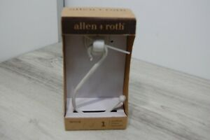 Allen + Roth 1 Antique White Finish Holdback Item # 0275138 New in Box