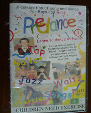 Childrens Kids Tap Jazz Ballet Singing Exercise Fitness Pre Dance Video DVD