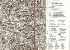 Herborn Sinn Dillenburg 1931 Karte /Ln. Driedorf Breitscheid Greifenstein Elsoff