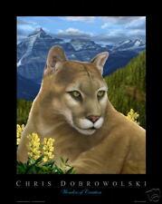 NEW Mountain Lion 16x20 Fine Art Print by Dobrowolski