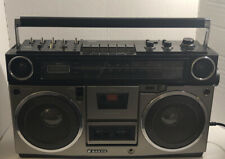Classic 1980s SANYO Model M9990 Stereo BOOMBOX AM/FM + CASSETTE  Works Very Well