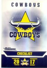 North Queensland Cowboys 2017 Season NRL & Rugby League Trading Cards