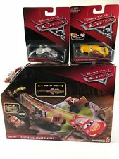 Disney Pixar Cars Smokey's Tractor Challenge Playse -Rust-eze Cruz Ramirez-Patty