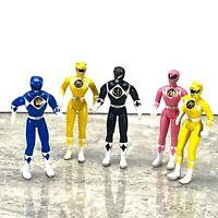 VTG 1995 Saban Mighty Morphin Power Rangers Action Figure 5 Lot