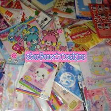 Lot of 20 Kawaii Loose Letter Sets Kamio Sanrio Crux Japan Stationery Scrapbook