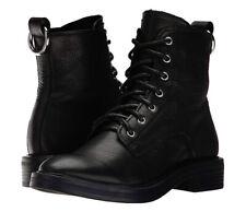 NEW! DOLCE VITA Bardot Combat Boot Black Size 10M