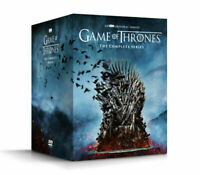 Game of Thrones Complete Series 1-8 DVD collection Box Set (used-like new)