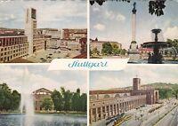 Stuttgart , Ansichtskarte gelaufen