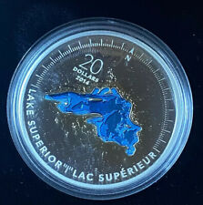 2014 Canadian The Great Lakes: Lake Superior Silver $20 1oz .999 Silver