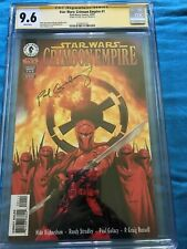 Star Wars: Crimson Empire 1 - Dark Horse - CGC 9.6 SS NM - Signed by Paul Gulacy