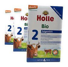 HOLLE Bio-Folgemilch 2 (3 x 600g)