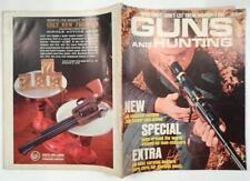Vintage Guns Hunting Magazine March 1963 44 Magnum Carbine 308 Timber Bolt Rare
