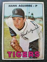1967 Topps Hank Aguirre #263 DETROIT TIGERS NR-MINT