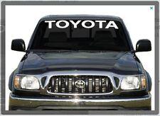Sticker Decal for Toyota Hilux windshield D4D mk3 front window vigo land cruiser