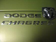 DODGE CHAGRER TRUNK EMBLEMS WITH DODGE RAM LOGO