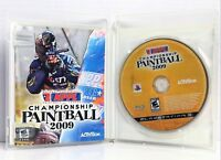 NPPL Championship Paintball 2009 (Sony Playstation 3, 2008) Complete, Ships Fast