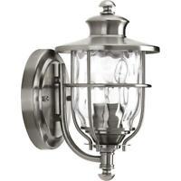 Progress Lighting Beacon 1-Light 6 Inch Stainless Steel Outdoor Wall Lantern