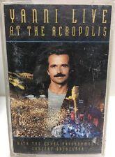 Yanni Live At The Acropolis Cassette Tape 01005-82116-4