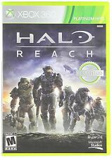 Halo Reach [Xbox 360, Platinum Hits, Multiplayer, Action Shooter FPS] NEW