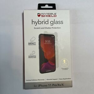 ZAGG Invisible Shield Hybrid Glass Screen Protector for Apple iPhone 11 Pro/X/Xs