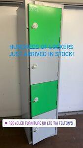 ELITE 4 door lockers (21   banks of 4 doors in stock) bargain £59 a bank