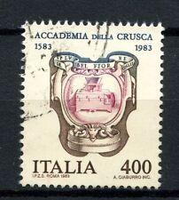 ITALIA 1983 SG # 1782 Accademia della Crusca utilizzato #A 40476