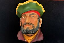 Lifelike Legends / Bossons Captain Morgan The Pirate Chalkware Head Wall