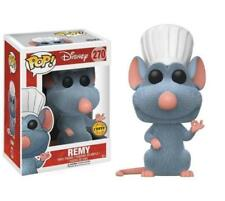 REMY Ratatouille Flocked CHASE Funko Pop Vinyl NEW in Mint Box + Protector