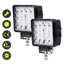 LED Arbeitsscheinwerfer lampen 2X 48W Rückfahrscheinwerfer Scheinwerfer 12V 24V