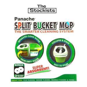 SPLIT  BUCKET  MOP 2 in 1 MOP - BUCKET -The Stockists Free Shipping