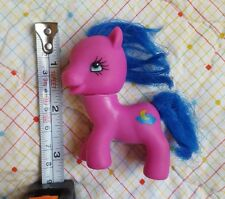 Vintage My Little Pony Hasbro Purple with blue hair Crescent Moon Pony • 1981