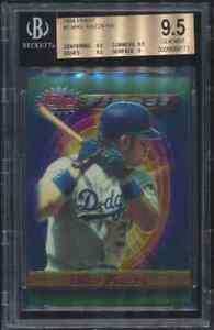 1994 Finest Topps Mike Piazza #1 HOF Los Angeles Dodgers BGS 9.5 GEM MINT