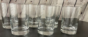 Libbey Juice Glasses - Set of 6 - Preowned Used Only One Time - Side Water 5.5oz