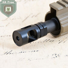 "Single Chamber .308 5/8""x24RH Threads Muzzle Brake with Jam Nut"