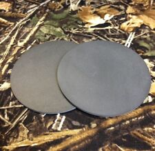 "2  -  3  1/2 ""  Slate  Pre-cut  Disc for Friction Turkey Calls   Build Your Own"