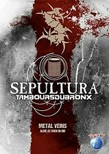 Sepultura/les Tambours du Bronx-METAL veins-Alive at Rock In Rio DVD NUOVO
