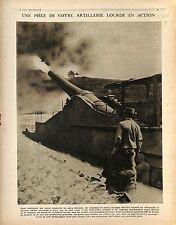 Artillerie Lourde Batterie Canon de 320/King George V General Plumer UK 1917 WWI