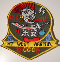 Vietnam War Theater Special Forces MACV SOG RT Recon Team West Virginia Patch!!!