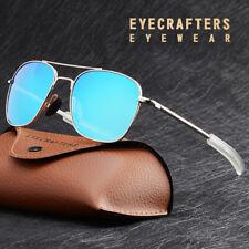 Polarized Aviator Sunglasses Men American Army Military Pilot Optical Sunglasses