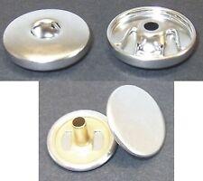 3 Chunk Chunks Druckknopf Click Buttons Silber für Armband Gürtel 2-Teilig