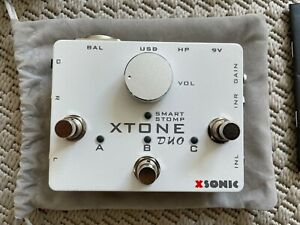 XSonic XTone Duo Audio / Midi Interface + Controller f. Gitarre u. Mikrofon