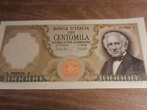 100000 lire manzoni 19 Luglio 1970  Bellissima