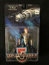 Babylon 5 G'Kar Action Figure New in Box with Narn Fighter