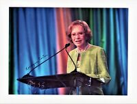 Rosalynn Carter Autographed 8 1/2 x 11 in. Photo First Lady