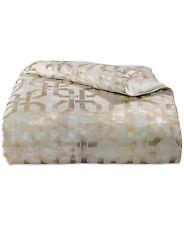 Hotel Collection Bedding Fresco FULL/QUEEN Duvet Cover Gold $335 H168