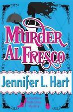 Murder Al Fresco (Southern Pasta Shop Mystery)-ExLibrary