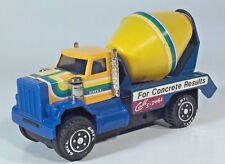 "Ertl Cement Mixer Concrete Truck  7"" Pressed Steel Scale Model Friction Powered"