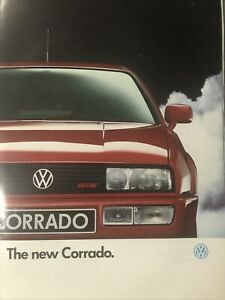 Car Brochure - 1991 Volkswagen Corrado - UK